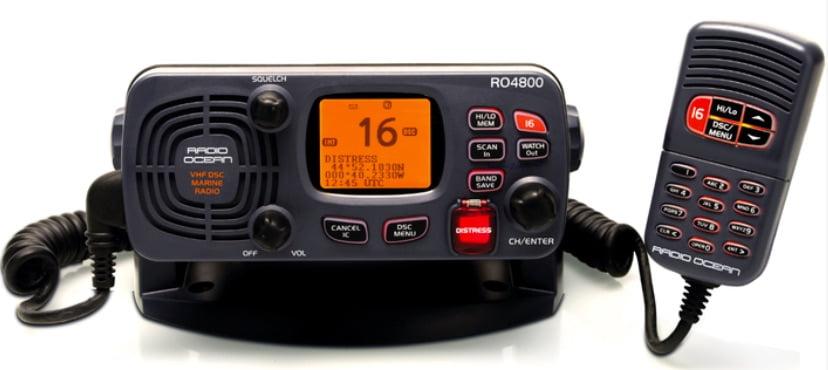 Furuno Radio Ocean RO4800 VHF radio AIS issue – NMEA OUT wires reversed